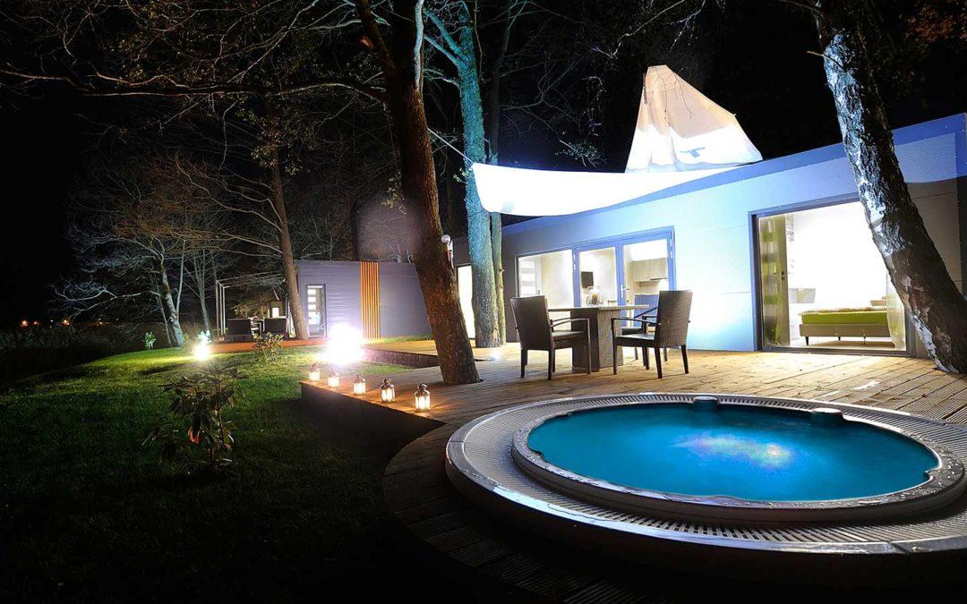Domki Mazury Ekomarina Bungalow Villa IV